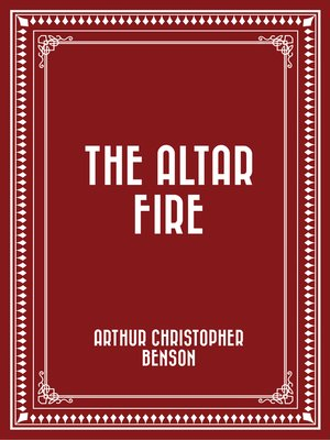 cover image of The Altar Fire