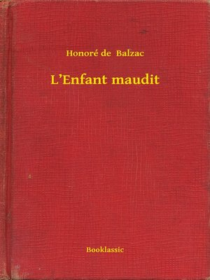cover image of L'Enfant maudit