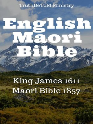 cover image of English Maori Bible