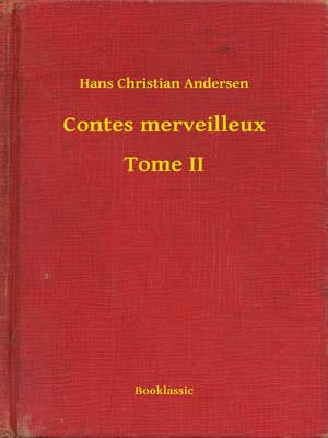 cover image of Contes merveilleux--Tome II