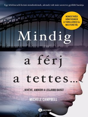 cover image of Mindig a férj a tettes