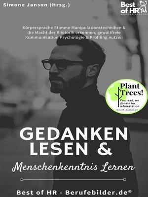 cover image of Gedanken lesen & Menschenkenntnis lernen