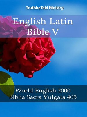 cover image of English Latin Bible V