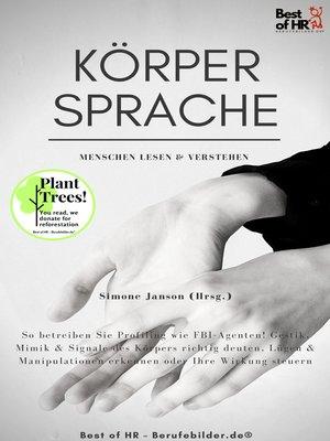 cover image of Körpersprache--Menschen lesen & verstehen