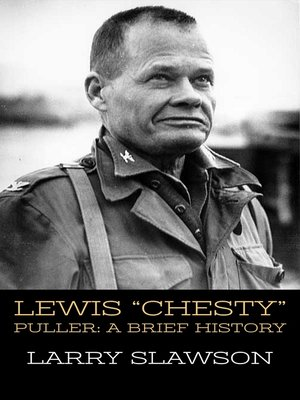 "cover image of Lewis ""Chesty"" Puller"