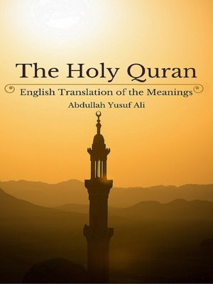 Quran English Translation Ebook