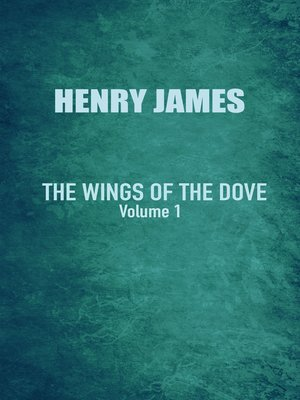 cover image of The Wings of the Dove