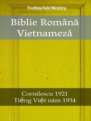 cover image of Biblie Română Vietnameză