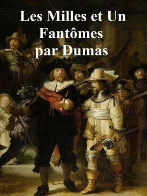 cover image of Les Mille et un Fantomes