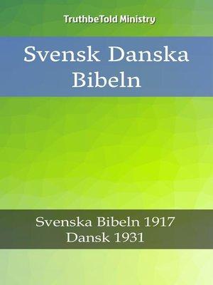 cover image of Svensk Danska Bibeln