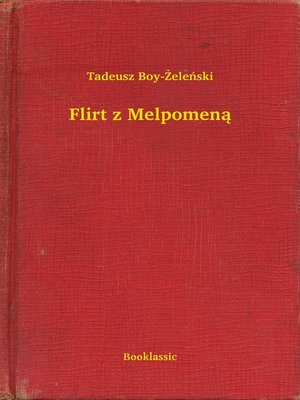 cover image of Flirt z Melpomeną