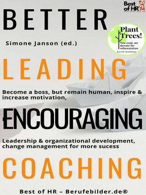 cover image of Better Leading Encouraging Coaching