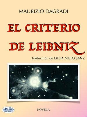 cover image of El Criterio De Leibniz