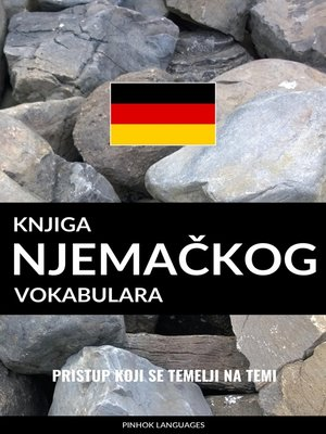 cover image of Knjiga njemačkog vokabulara