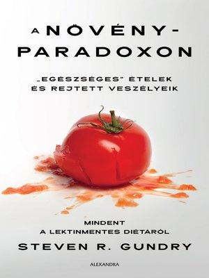 cover image of A növényparadoxon