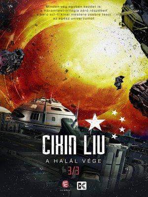 cover image of A halál vége
