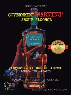 cover image of Government warning about alcohol