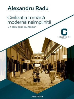 cover image of Civilizatia romana moderna neimplinita