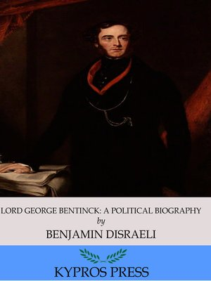 cover image of Lord George Bentinck: A Political Biography