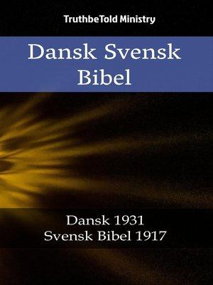 cover image of Dansk Svensk Bibel