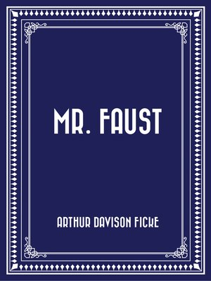 cover image of Mr. Faust