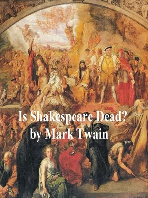 cover image of Is Shakespeare Dead? from My Autobiography