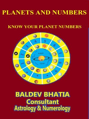cover image of Planets and Numbers