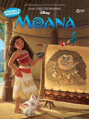 cover image of Guia Curso de Desenho--Moana