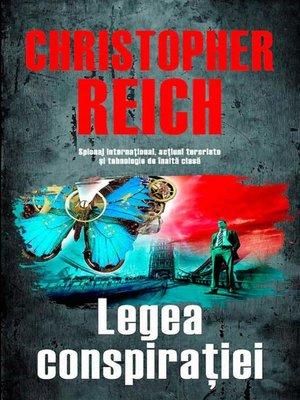 cover image of Legea conspirației