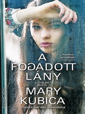 cover image of A fogadott lány