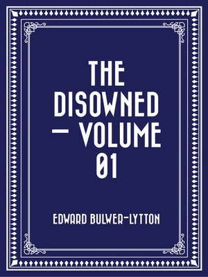 cover image of The Disowned — Volume 01