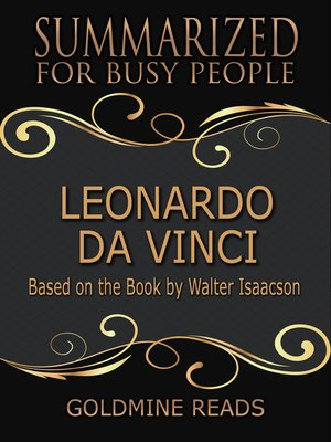 cover image of Leonardo Da Vinci - Summarized for Busy People