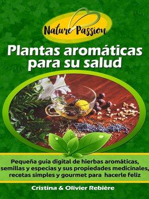 cover image of Plantas aromáticas para su salud