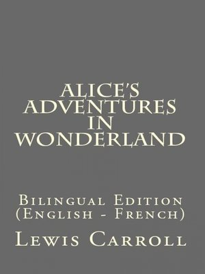 cover image of Alice's Adventures In Wonderland