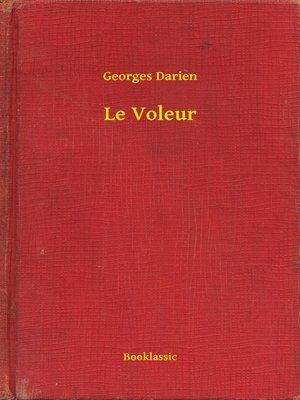 cover image of Le Voleur