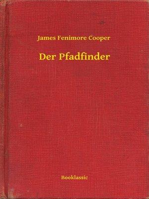 cover image of Der Pfadfinder