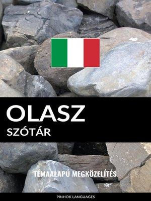 cover image of Olasz szótár
