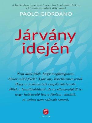cover image of Járvány idején