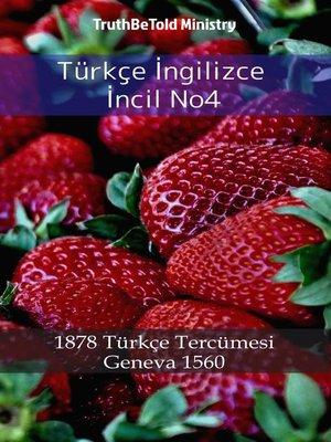 cover image of Türkçe İngilizce İncil No4