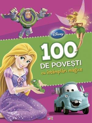 cover image of 100 de povesti cu intamplari magice