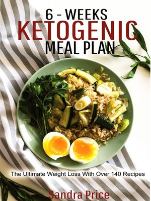 cover image of 6-Weeks Ketogenic Meal Plan
