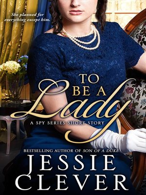 cover image of To Be a Lady