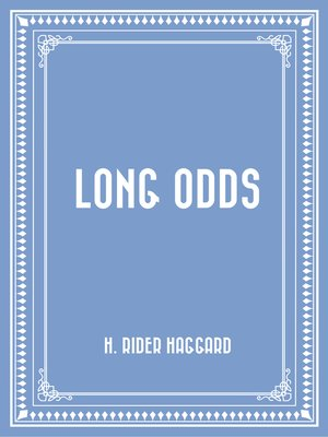cover image of Long Odds