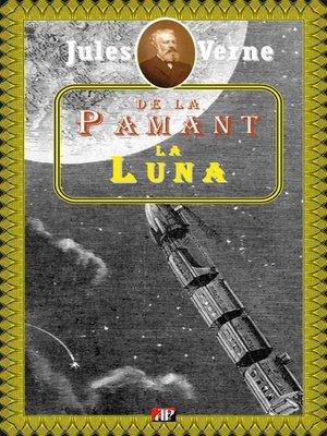 cover image of De la Pământ la Lună