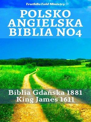 cover image of Polsko Angielska Biblia No4