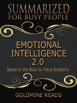 cover image of Emotional Intelligence 2.0 - Summarized for Busy People