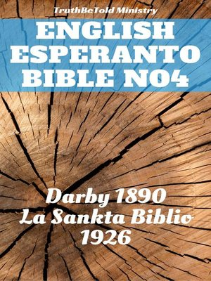 cover image of English Esperanto Bible No4
