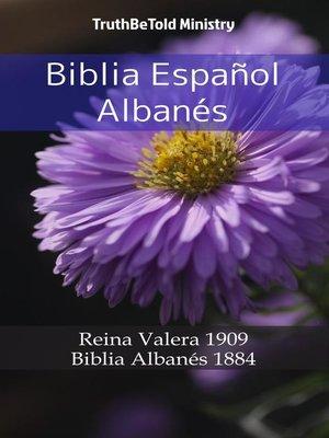 cover image of Biblia Español Albanés