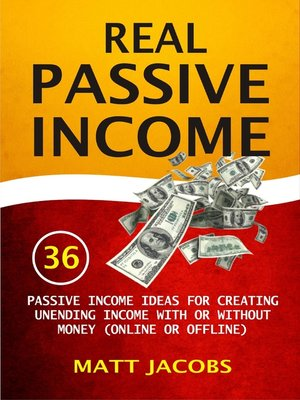 cover image of Real Passive Income