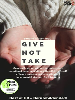 cover image of Give not Take